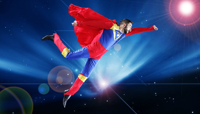 JOLIS COEURS:Animation super-heros Superman