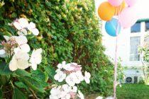 Décoration bouquet hélium extérieur